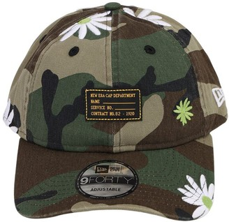 New Era Military Flower 940 Cotton Baseball Hat