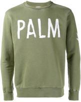 Palm Angels Palm print sweatshirt - men - Cotton - L