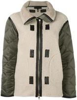 Rag & Bone reversible zipped jacket
