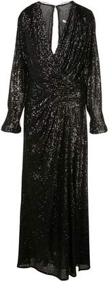 Jonathan Simkhai flared sequined evening dress