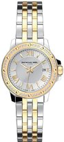 "Raymond Weil Women's 5399-SPS-00657 ""Tango"" Two-Tone Diamond Bezel Dress Watch"
