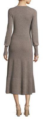 Agnona Cashmere Flare Dress