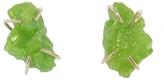 Melissa Joy Manning Green Pyromorphite Stud Earrings