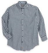 Thomas Dean Boy's Gingham Dress Shirt