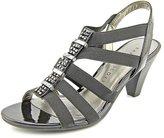 Karen Scott Nylaa Womens Size 6.5 Black Fabric Dress Sandals Shoes