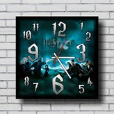 Harry Potter 11.4'' Handmade Wall Clock - Get unique décor for home or office – Best gift ideas for kids, friends, parents and your soul mates