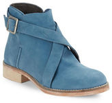 Free People Laspalmas Nubuck Leather Ankle Boots