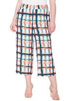 ELOQUII Plus Size Printed Jaye Pant