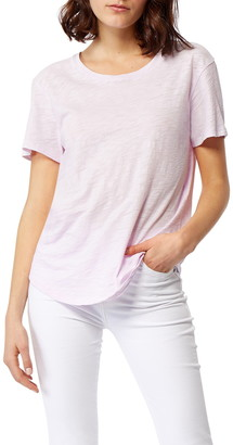 Habitual Twisted Hem Split Back T-Shirt