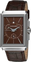 Azzaro Men's AZ2061.13HH.000 Legand Rectangular Chronograph Dial and Strap Dial Watch