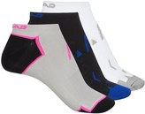 Head Micro No-Show Socks - 3-Pack, Below the Ankle (For Women)
