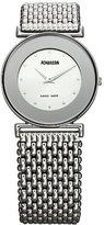 Jowissa Women's J3.010.M Elegance 30 mm Silver Dial Stainless Steel Watch