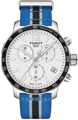 Tissot Men's Quickster Chronograph NBA Minnesota Timberwolves Watch, 42mm