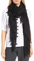 Eileen Fisher Women's Tassel Organic Cotton Wrap