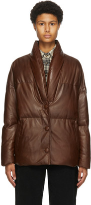 Etoile Isabel Marant Brown Leather Carterae Jacket