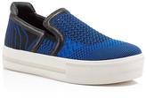 Ash Jeday Patterned Knit Platform Sneakers