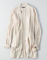 American Eagle AEO Open Pocket Cardigan