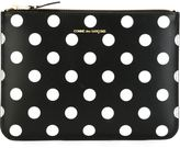 Comme des Garcons polka dot clutch - unisex - Leather - One Size