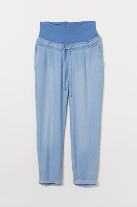 H&M MAMA Lyocell trousers