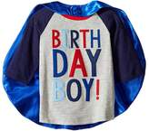 Mud Pie 3 Birthday Boy Cape T-Shirt Boy's T Shirt