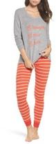Make + Model Women's Snow Day Graphic Pajamas