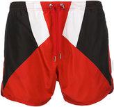 Neil Barrett colour block swim shorts - men - Polyester - XL