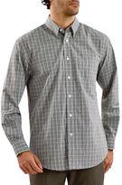 Haggar Gradient Gingham Shirt