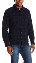 True Religion Men's Western Shirt Jacket