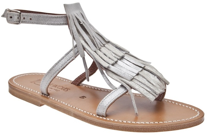 K. Jacques 'Corsaire' flat sandal