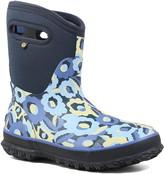 Bogs Classic Mid Flower Bites Insulated Waterproof Rain Boot