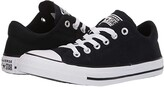 Converse Chuck Taylor(r) All Star(r) Madison True Faves Ox (Black/Natural Ivory/White) Women's Shoes