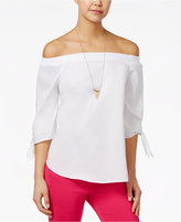 XOXO Juniors' Off-The-Shoulder Top
