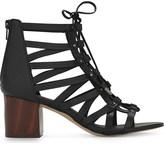 Aldo Myssi leather heeled sandals