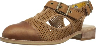 Caterpillar Women's Martine Sling Back Perforated Shoe Flat Sandal