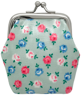 Cath Kidston Cath Kids Children's Lucky Rose Clasp Purse, Mint Green