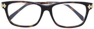 Emilio Pucci Tortoiseshell Oversized Glasses