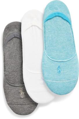 Ralph Lauren French Terry Liner Sock 3-Pack