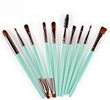 Toraway Pro 10pcs Makeup Brush Set tools Make-up Toiletry Kit Wool Make Up Brush Set