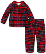 Little Me Baby Boys Plaid Pajamas