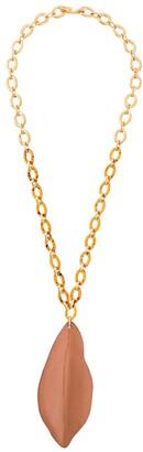 Marni Foliate Pendant Necklace