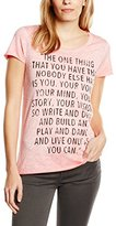 Rich & Royal rich&royal Women's Short Sleeve T-Shirt - Pink -