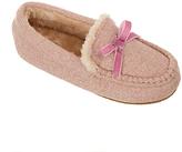 John Lewis Children's Sheepskin Moccasin Slippers, Pink