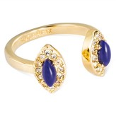 SUGARFIX by BaubleBar Teardrop Adjustable Ring - Blue Gold