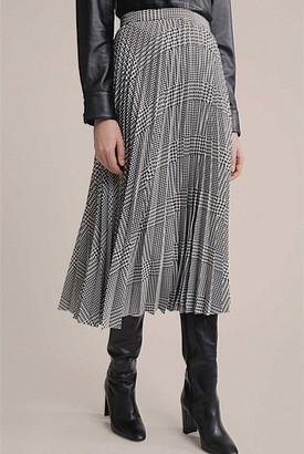 Witchery Pleated Check Skirt