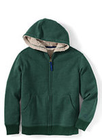 Classic Toddler Boys Sherpa Hoodie-Rich Pine