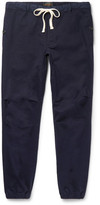 Beams Slim-Fit Tapered Cotton-Blend Twill Trousers