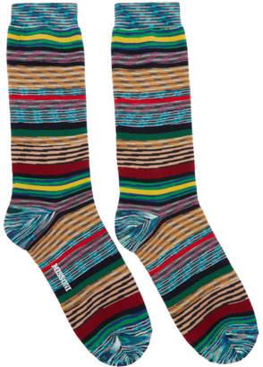 Missoni Multicolor Stripe Socks