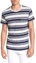 Sol Angeles Men's Tahoe Stripe Pocket T-Shirt