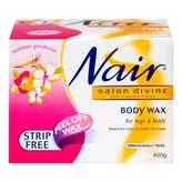 Gardenia Nair Salon Divine Tahitian Body Wax for Body & Legs 400 g