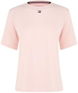 Tommy Bodywear Short Sleeves Flag Logo Pyjama Top